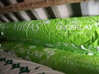 MIDAS 10MM PU CARPET UNDERLAY BRAND NEW ROLLS