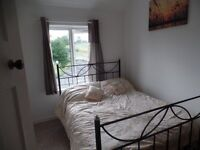 double room offered in 2 bed semi detached house in village location