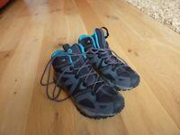 Merrell Womens Grassbow : Vegan - Mid Sports GORE-TEX Waterproof Boots - Size 4