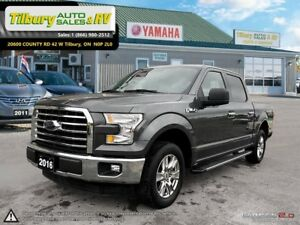 2016 Ford F-150 XLT. *Chrome. One Owner. Back up Cam*