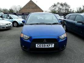 59 plate MITSUBISHI COLT 1.3 CLEAR / TEC 3DR ONLY 39K £ 30 a yr road tax