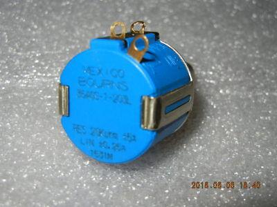 Bourns 20k Ohm Potentiometer 3540s-1-203l 10 Turns New
