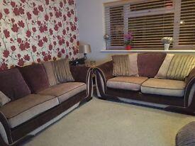 DFS Sofas 3 + 2 Seater