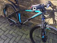 Like new Saracen mountain bike
