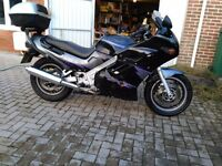 Suzuki GSX1100F Powerscreen, 1996, Black/Purple, MOT Till July, Recent C&S and rear wheel bearings