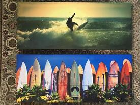 Surfing Canvases