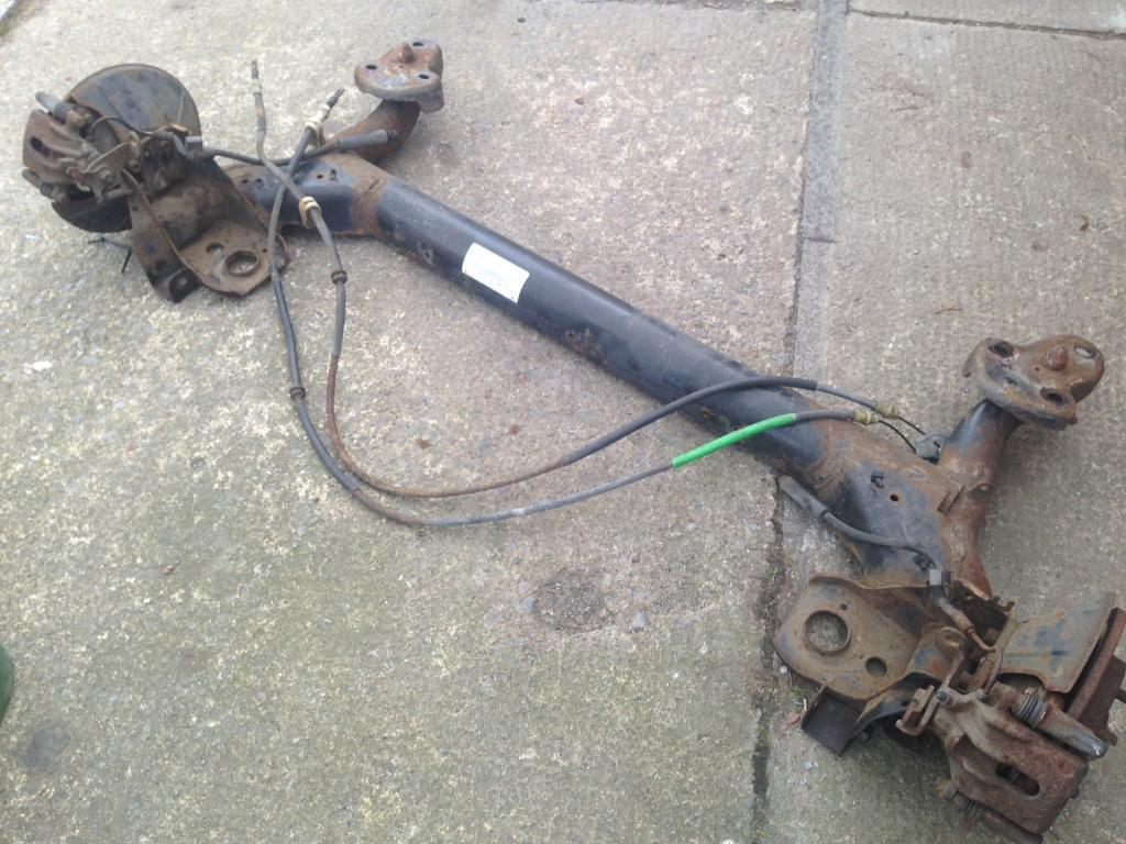 Fiesta ST150 rear axle and front calipers | in Washington, Tyne and Wear |  Gumtree