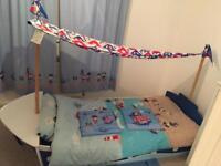 Kids Next Pirate Ship Bed, Rug, Pictures & Curtains