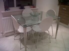 Dinning Table & Four Chairs