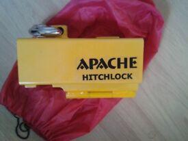 Pyramid Apache HitchLock Hitch Lock Stainless Steel Pad Lock 2 Keys