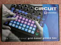 Novation Circuit groovebox - boxed, excellent condition