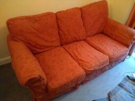 Three Piece Sofa