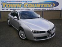 ***2007 Alfa Romeo 159 LUSSO 1.9 JTDM **MOT APRIL 2018**FULL LEATHER**( passat a4 vectra mondeo 320