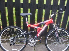 two adult bikes for sale.one at £35and one at£45
