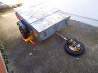 Car Trailer 4x3 Galvanised
