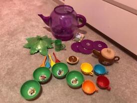 Toy bundle or seperate - tea set/ sticklebricks / Mr Potatohead / plastic food / utensils