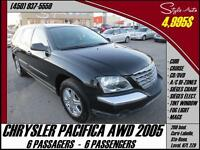 2005 Chrysler Pacifica reserve 6 PASS. AWD CUIR DVD
