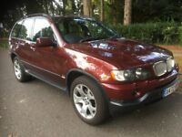 BMW X5 SPORT 4.4 EDITION, AUTOMATIC JEEP, LOW MILEAGE, FULLY LOADED, SAT NAV,TV, NEEDS TLC, BARGAIN