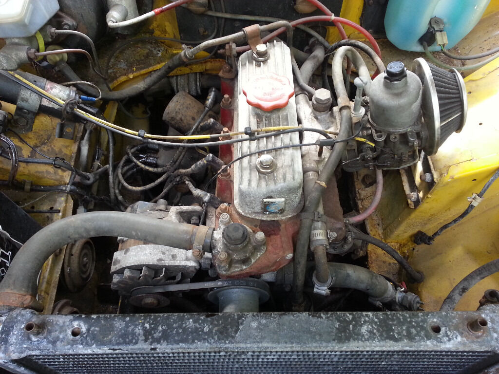 Morris Ital 1275 Marina Morris Minor A35 Engine In