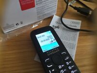 New boxed never used Alcatel one touch phone