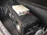 Fusion bass box and vibe amp 1200w
