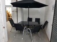 NEW Ready assembled 8 piece Patio Garden Set RRP £499