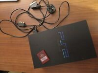 PS2 for sale with 8 games