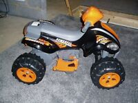 Childs electric quad bike, suits 3 year old.