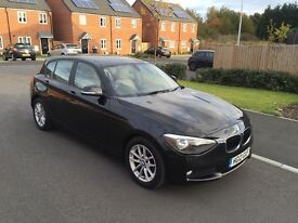 2012 BMW 116d EfficientDynamics Black 5 door