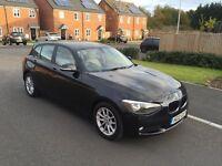 2012 BMW 116d EfficientDynamics Black 5 door