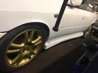 Subaru impreza sti 17 alloy wheels