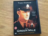 DVD The Green Mile starring Tom Hanks used but in good condition