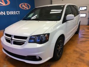 2017 Dodge Grand Caravan GT LEATHER! 2ND ROW CAPTAINS CHAIRS!