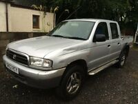 Mazda B2500 Bongo Ford Ranger 2002 Spares or repairs Good Engine but doesnt start due to electrics