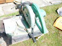 HITACHI C10FCB 255mm chop saw -compound saw mitre saw 240v
