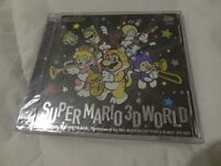 SUPER MARIO 3D WORLD ORIGINAL SOUNDTRACK NEW & SEALED / RARE / PAY PAL / FREE POSTAGE.