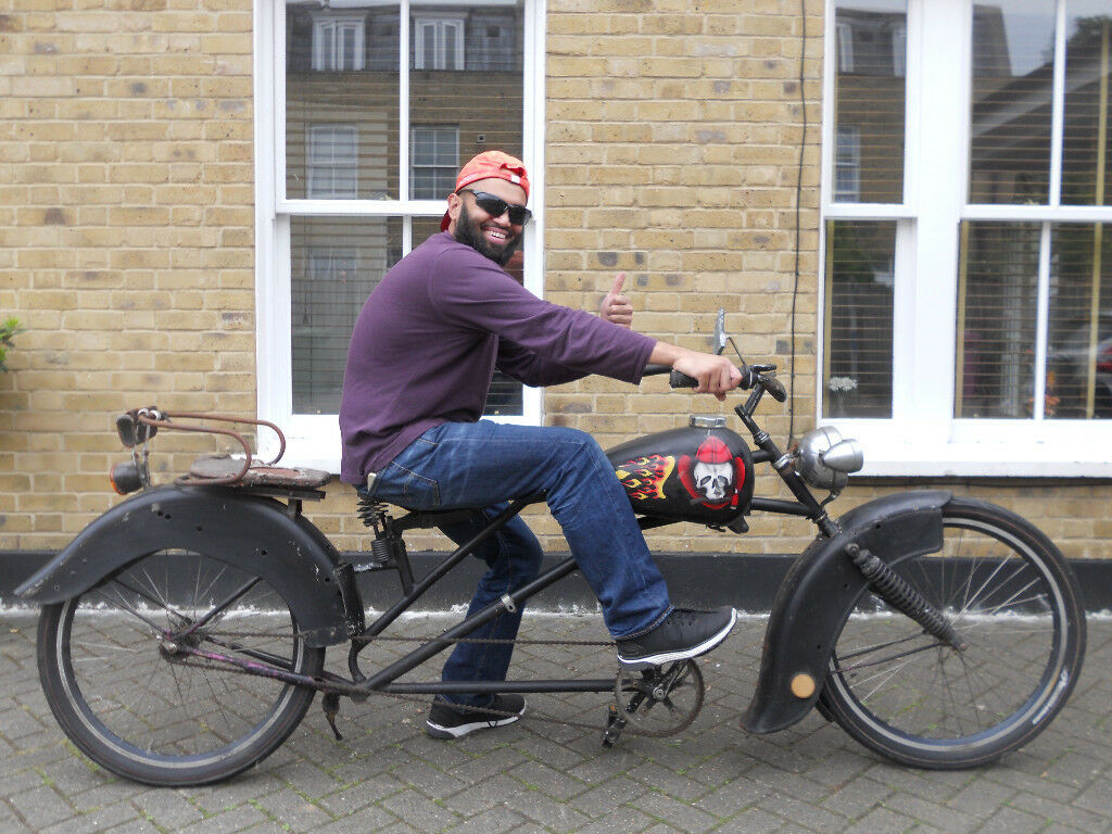 RARE Retro Classic Vintage Dutch Lowrider Hells Angels Beach Cruiser Bike  Real HEADTURNER | in Limehouse, London | Gumtree