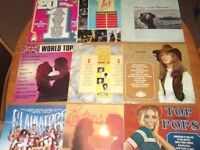 joblot of 70 compilation albums