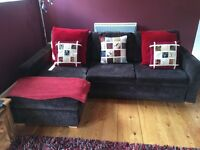 Beautiful John Lewis Corner Sofa with Sofa Bed and Storage