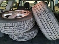 205 60 r17 alloys + tyres