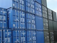 20FT NEW ONE TRIP ONLY SHIPPING CONTAINERS NATIONWIDE Blue or Green from £2085 plus delivery