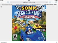 Wanted: PS3 game Sonic all stars racing transformed