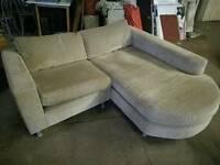 2 piece corner sofa (excellent condition)**REDUCED TO SELL**