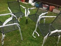 GARDEN CHAIRS FROM B & Q - BRAND NEW - 16 AVAILABLE PRICE IS FOR ONE CHAIR - £40 B & Q NOW BARGAIN