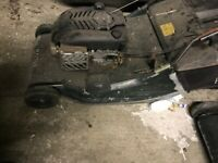 HAYTER 56 INCH ROTARY MOWER WITH ROLLER - PARTS OR REPAIR £120 ONO