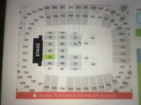 2 BILLY JOEL TICKETS FLOOR SEATS VERY FRONT BLOCK A5!!