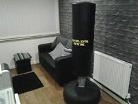 golds gym free standing punch bag
