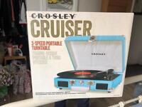 Crosley Cruiser Turntable