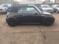 A ONE OFF MINI COOPERS S CONVERTIBLE £3690