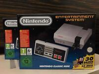 Nintendo Classic Mini NES - NEW/UNOPENED